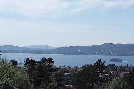 80 kvm solrik leilighet med fjordutsikt - Wohnung