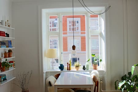 Cosy and light flat on Vesterbro in central Cph - Appartement