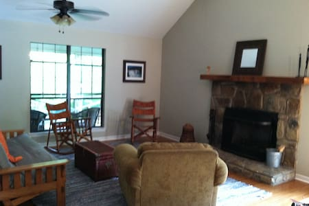 Split Rock! Cozy 2BR on Little River Canyon w/ 7ac - Cedar Bluff