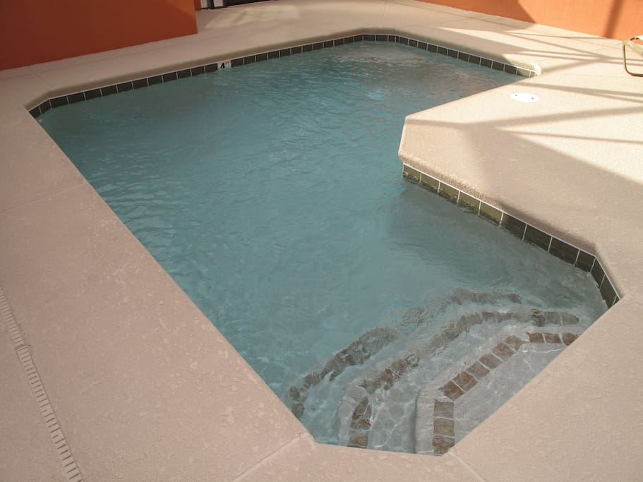 your private pool