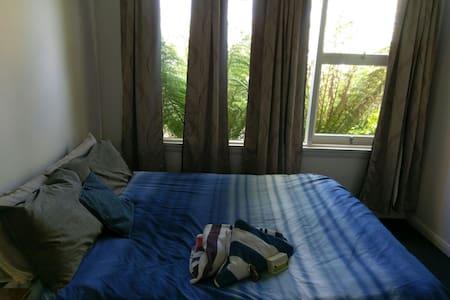 Quaint bedroom/s - garden view - Trevallyn