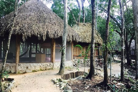 ECO-FRIENDLY JUNGLE HOUSE MINUTES FROM THE BEACH - Tulum