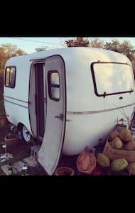 Small camper on quiet, quaint property - Montauk - Camper/RV