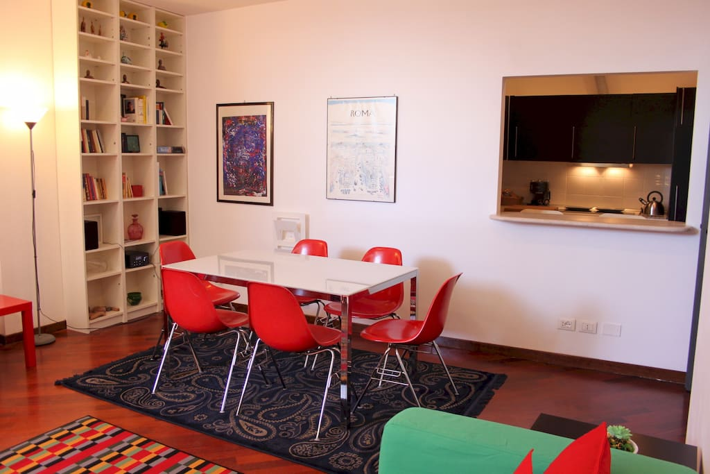 -- Perfect Suite in Trastevere