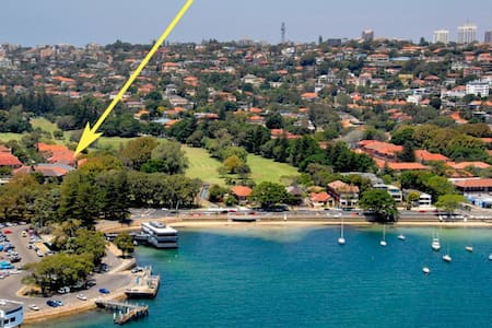 Spacious 2 Lrg Bedroom Apartment - Rose Bay - Apartment