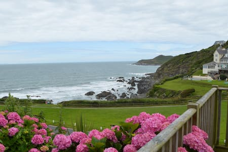 Spacious Room Along The Beach - Woolacombe - Apartament