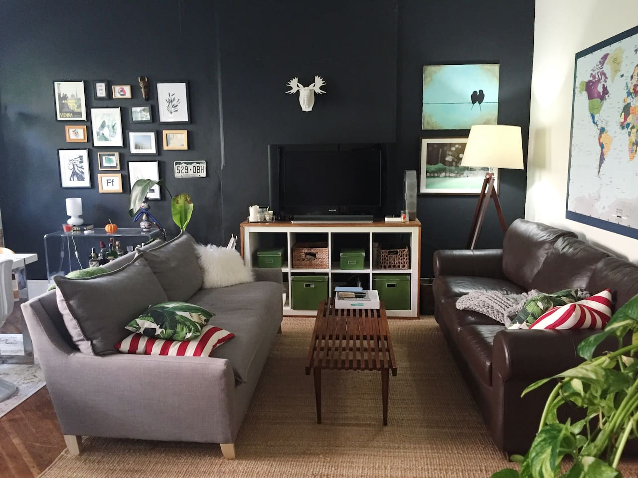 Living area - two comfy sofas perfect for extra guests