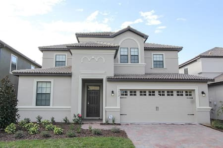 ChampionsGate - Pool Home 7BD/5BA - Sleeps 16 - Gold - RCG729 - Four Corners