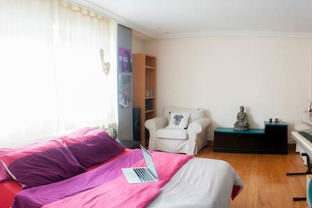 HUGE BEDROOM 10MINS TO THE CENTER - Zizur Mayor - Bed & Breakfast