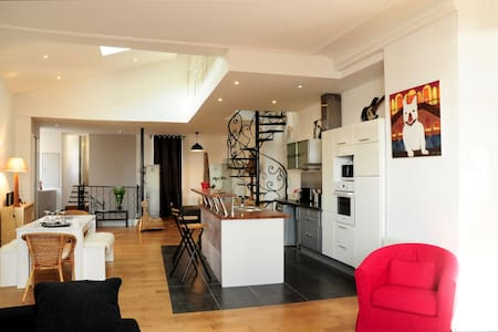 Loft with stunning view on the Garonne - Bordeaux