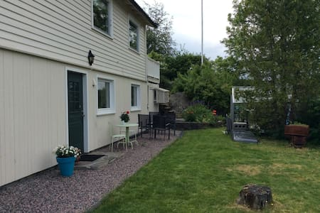 Nice flat in a quiet area 10 min from Kristiansand - Kristiansand