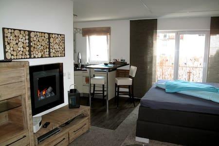 kleine Luxusbase zwischen City und Badesee - Apartamento