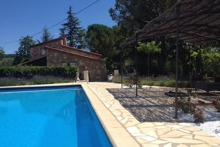 Provencal House with large pool - House