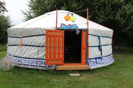 Sfeervolle rust in een authentieke yurt - Mont-et-Marré - Iurta