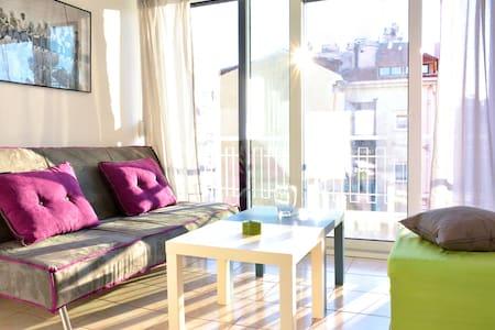 Adorable flat next to Marina Alimou - Alimos - Flat