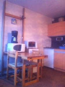 Studio puy saint Vincent 1600 - Puy-Saint-Vincent - Apartment