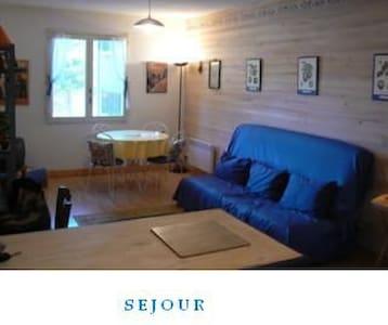 studio spacieux proche centre barcelonnette - Barcelonnette - Apartment