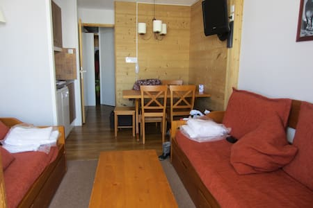 Cosy flat at the foot of the slope in Belle Plagne - Apartamento