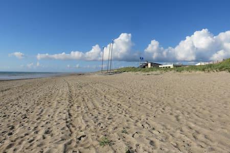 Maison à 100 m superbe plage wifi gratuit - Dům