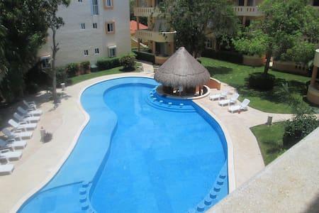 BIG 2BR with pool + 3mn to the beach - Playa del Carmen - Wohnung