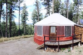 Picture of Spencer  Mountain Solar Yurt