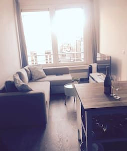 Charming apartment near city centre and shops - Antwerpen - Apartment