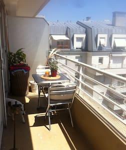 Superbe studio lumineux avec terrasse 10' de Paris - Bourg-la-Reine