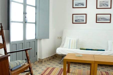 Habitación doble con salón en La Botica de Vejer - Vejer de la Frontera - Bed & Breakfast