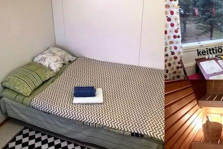 Huone 1:lle aikuiselle lasten kanss - Oulu - Apartment