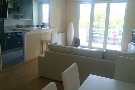 2 bedrooms, 720 ft², 2 miles from Paris - Issy-les-Moulineaux