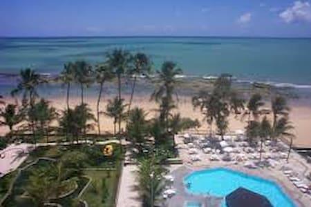 flat beira mar, Hotel Golden Beach - Flat