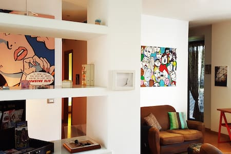 Modern holiday apartment in Rome with balcony - Roma