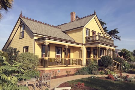 Cass House Cayucos - Room 2 - Cayucos - Bed & Breakfast