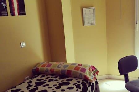 Habitación individual en piso céntrico - Cáceres - Andere