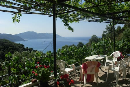 Panorama Rooms in Mirtiotissa  (Room No.4) - Corfu