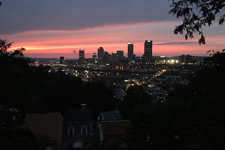 South Side Slopes with View & Private Bath - Pittsburgh - Hus