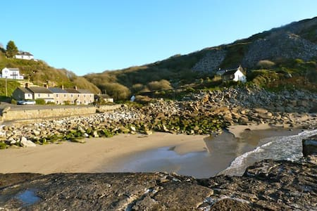 Peaceful seafront retreat, Cornwall - Lamorna - House