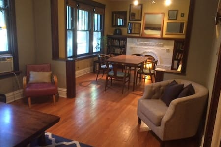Vintage One Bedroom in Andersonville + Two Cats! - Lakás