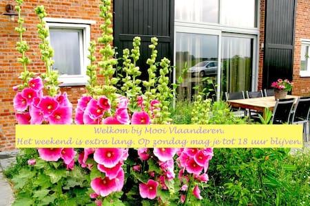 terrace/garden/near sea peaceful/D - Lejlighed