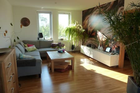modern sunny appartment with roof terrace - Kiel - Apartamento