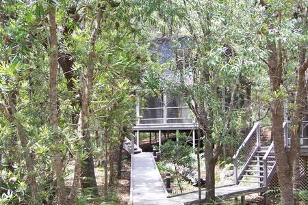 Peaceful South Straddie hideaway - Blockhütte