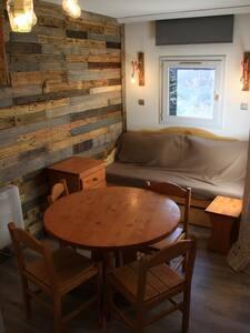 Studio rénové à l'Alpe d'Huez - Huez