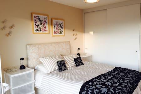 Habitación cama 2 pl. baño privadoValle lo Campino - House