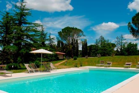 Villa Valderanda - Fauglia, villa, park, pool - Vila