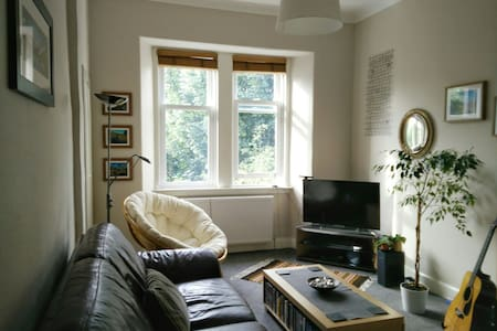 Bright, comfy one bedroom flat. - Edinburgh - Apartment