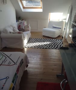 Brilliant Loft Studio + en suite - Newcastle upon Tyne - Bed & Breakfast