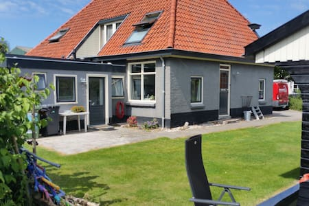 Relax in landelijk Van Ewijcksluis aan Amstelmeer - Kabin