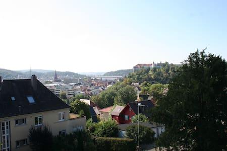 Dreamview - Blick auf Schloss Hellenstein - Heidenheim an der Brenz - Apartament