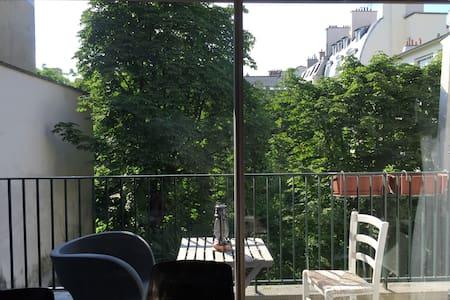 Great love nest in St Germain des Prés garden view - Paris - Apartment