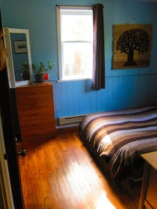 Beautiful room with yard in downtown Nelson. - Ház